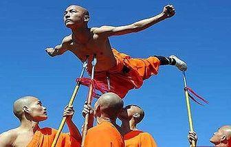 تمرینات عجیب راهبان در معبد شائولین + تصاویر