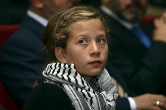 دختری فلسطینی که همه درباره او سخن می گویند
