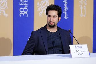 کارگردان جوان، از تجربه همکاری با شهاب حسینی می گوید