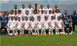 تیم ملی مقابل قطر سرخپوش شد