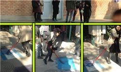 خوشرقصی عده ای در دانشگاههای جمهوری اسلامی برای رژیم صهیونیستی