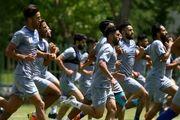 تمرین فوتبال استقلالی ها یا تمرین پینگ پنگ ؟ +عکس