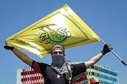 حضور نظامی نُجَباء در راهپیمایی روز قدس تهران + تصاویر