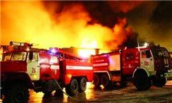 آتشسوزی گسترده در کهریزک