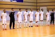 ساعت بازی ایران و ازبکستان در جام جهانی فوتسال