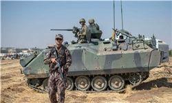 ادعای ارتش ترکیه درباره تسلط بر بخشی از عفرین