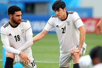 تمرین تیم ملی ایران پیش از بازی با پرتغال/ گزارش تصویری