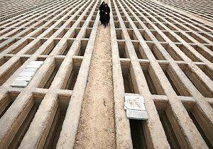 قبرهای کرونایی برای عزیزانمان/ فیلم