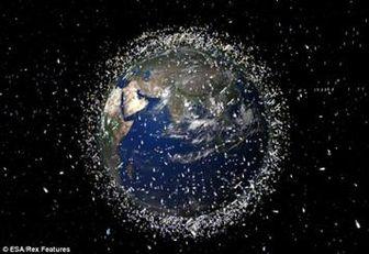 پاکسازی زباله های فضایی به روش ژاپنی