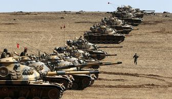 """ترکیه با تانک های زرهی به پشتیبانی """"ارتش آزاد"""" می رود"""