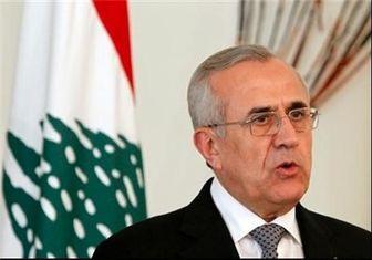 میشل سلیمان با استقبال عباس آخوندی وارد تهران شد