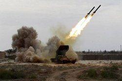 حمله موشکی ارتش یمن به شهرک صنعتی جیزان عربستان