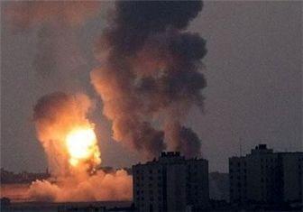 حمله جنگندههای رژیم صهیونیستی به رفح