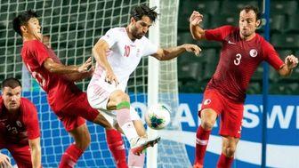 ترکیب تیم ملی فوتبال ایران مقابل هنگ کنگ