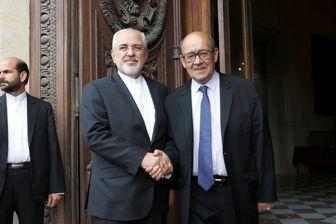 مطرح شدن 3 موضوع «مهم» در گفتگوی وزیر خارجه فرانسه با مقامات ایرانی