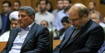 محسن هاشمی با قالیباف دیدار کرد