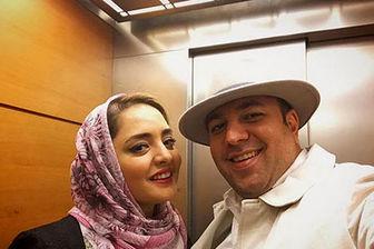 سلفی متفاوت زوج بازیگر معروف
