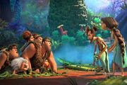 رکورد فروش انیمیشن «غارنشین ها 2» در هفته ای که گذشت