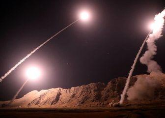تصاویر دیده نشده از انتقام موشکی سپاه از داعش/ فیلم