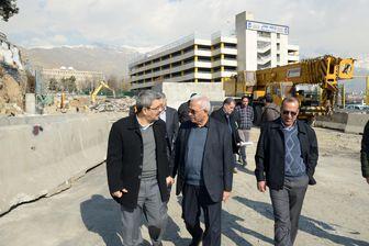 آخرین وضعیت یکی از بزرگترین پروژههای ترافیکی شمال تهران