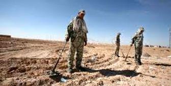 پیدا شدن صدها مین آمریکایی در مقر تروریستها