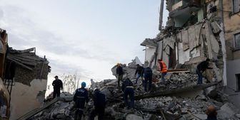 افزایش تلفات زلزله آلبانی+ عکس