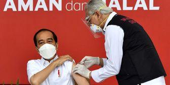 رئیسجمهور اندونزی واکسن چینی تزریق کرد