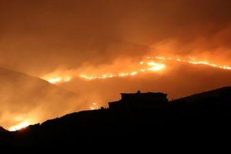 آتشسوزی در آمریکا