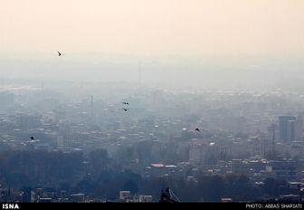 آلودگی هوای کرج از مرز هشدار گذشت