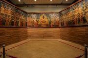 بزرگترین تابلو جهان از کاخ گلستان راهی لوور فرانسه شد
