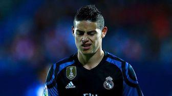 تصمیم رئال مادرید برای فروش ستاره کلمبیایی