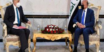 دیدار سفیر آمریکا با وزیر خارجه عراق