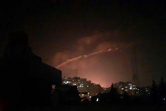 حمله جنگندههای ناشناس به سوریه