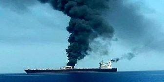 نفتکش ایرانی در عربستان دچار انفجار شد