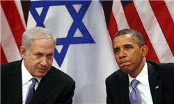 سایه چماق اسراییلی بر روی سر اوباما