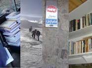 افتتاح کتابخانه در قله کوه