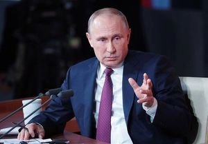 قول پوتین برای مجازات مسئولان آتش سوزی در روسیه