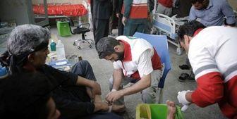 تداوم خدمات هلال احمر تا پایان ماه صفر برای زائران در عتبات