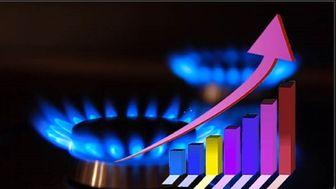 افزایش مصرف گاز نسبت به مدت مشابه سال گذشته