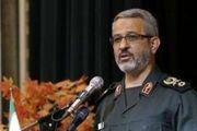 فرمانده بسیج: دومینوی اضمحلال آمریکا شروع شده است