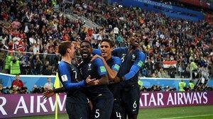 برتری فرانسه مقابل بلژیک از نگاه آمار