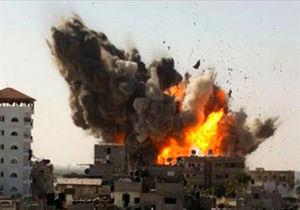 حمله ناوهای جنگی سعودی به استان تعز یمن