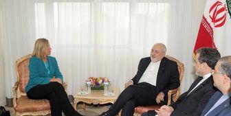 موگرینی با ظریف در نیویورک دیدار کرد