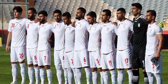 اعلام ترکیب تیم ملی فوتبال ایران مقابل عراق