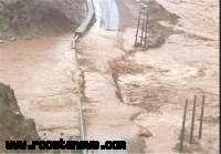 جاده دسترسی سه روستای درمحاصره سیل شهرستان اهواز باز شد