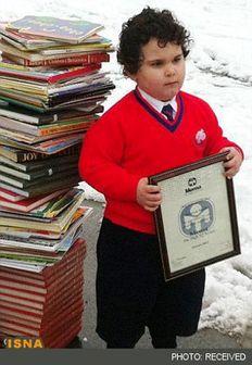 کودک ایرانی خردسال ترین نابغه جهان شد