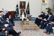 دیدار وزیر امور خارجه با نخست وزیر پاکستان