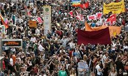 لبنانی ها به خیابان ریختند