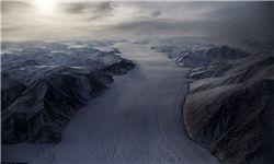 یخچالهای طبیعی و زمینهای یخی قطب شمال+ عکس