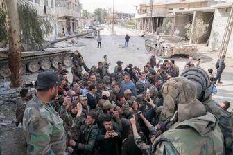 بشار اسد به جبهه های جنگ در غوطه شرقی رفت